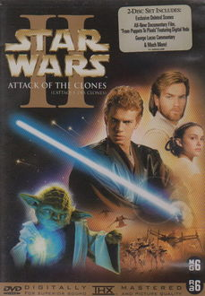 Star Wars II - Attack Of The Clones (2 DVD) (Gebruikt)
