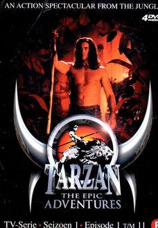 Tarzan - The Epic Adventures Seizoen 1 Afl 12 t/m 22